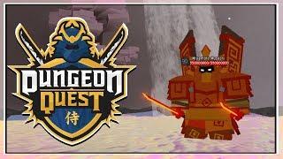 TUN WAHNSINN UND ALPTRAUM | Dungeon Quest - Roblox LiveStream (Grinding Samurai Palace) [Level 106]