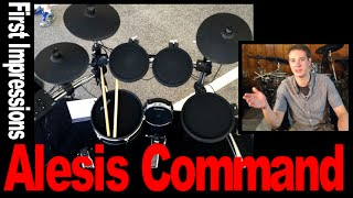 Alesis Command: First Impressions