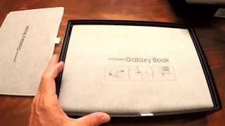 "Samsung Galaxy Book 12"" 256GB Unboxing"