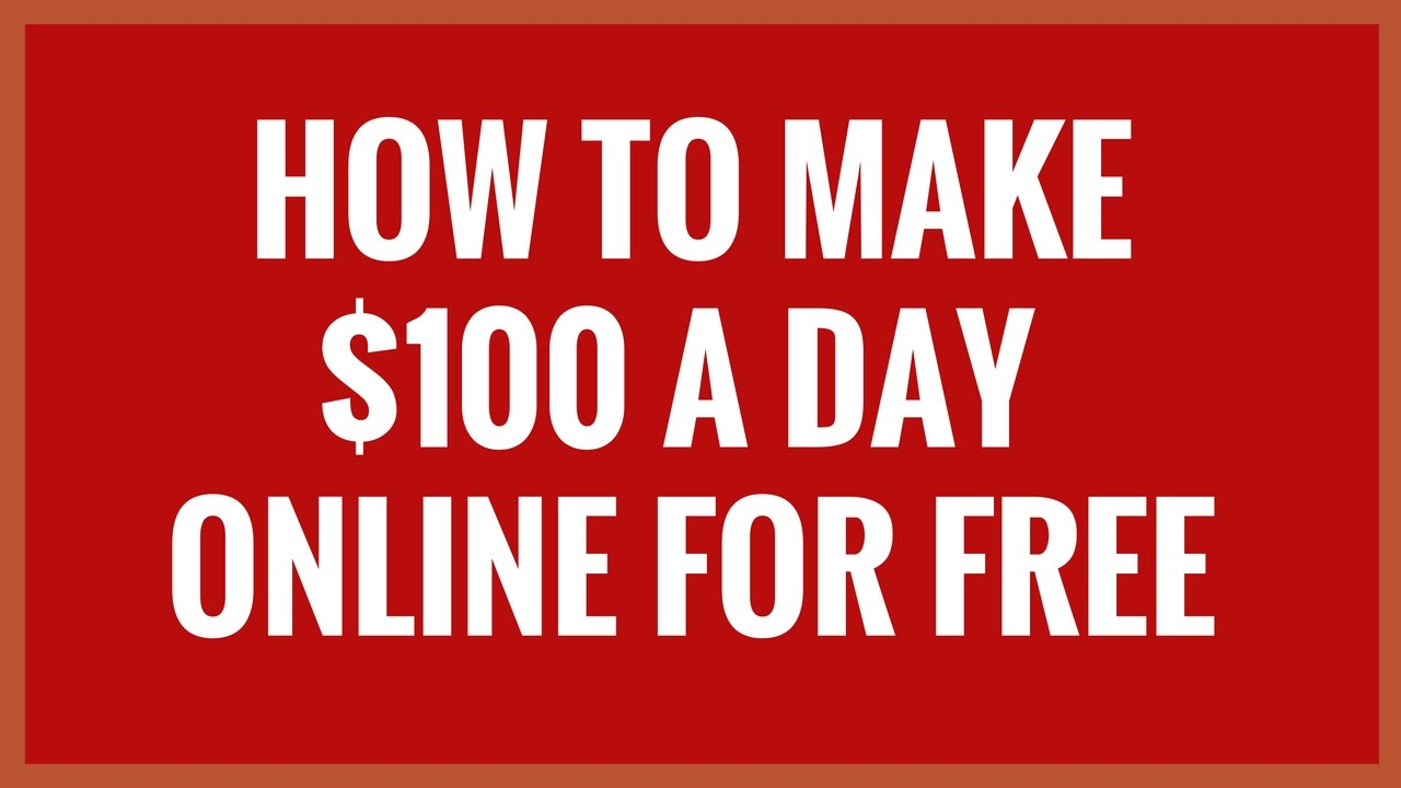 QUICK TIP TO MAKE $100 A DAY