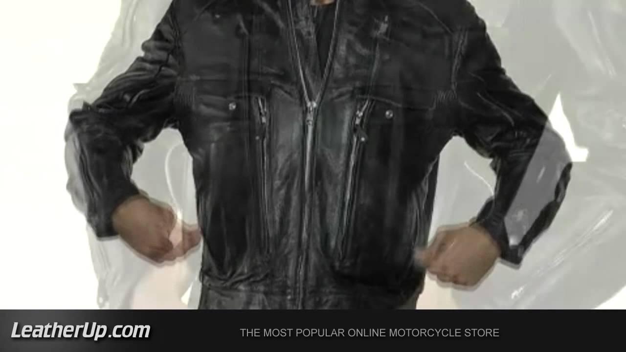 B4495 Xelement Men S Bandit Buffalo Jacket At Leatherup Com Youtube