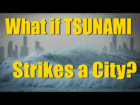 Tsunami Hitting a City in Cities Skylines - Facts and Misconceptions