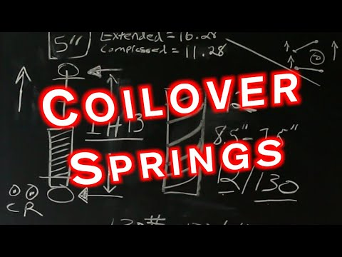 Coilover Springs | Spring Rates | Spring Height