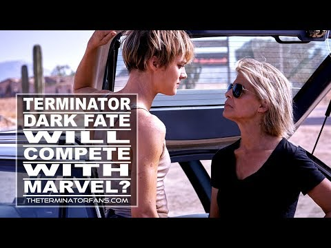 "TERMINATOR: DARK FATE - DIRECTOR Says T:DF Will COMPETE With MARVEL Movies ""A Little Bit"""