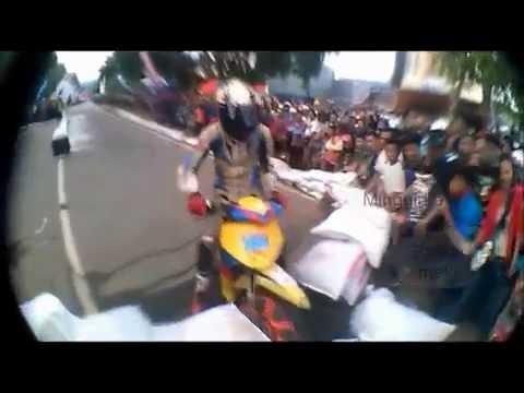 Kecelakaan balapan Motor yang Parah Kocak !!! Malili Road Race 2