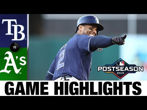 Charlie Morton, Yandy Diaz power Rays past A's in WC game | AL Wild Card Game Highlights