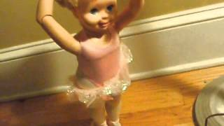 Vintage Ballerina Doll- Tyco My Pretty Ballerina Doll