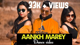 SIMMBA | ANKH MAREY BOLLYWOOD DANCE VIDEO | DANCE TEAM CHOREOGRAPHY | RANVEER SINGH,SARA ALI KHAN