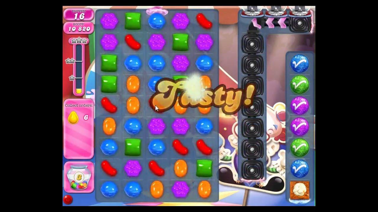 Candy Crush Saga Level 1385 - YouTube