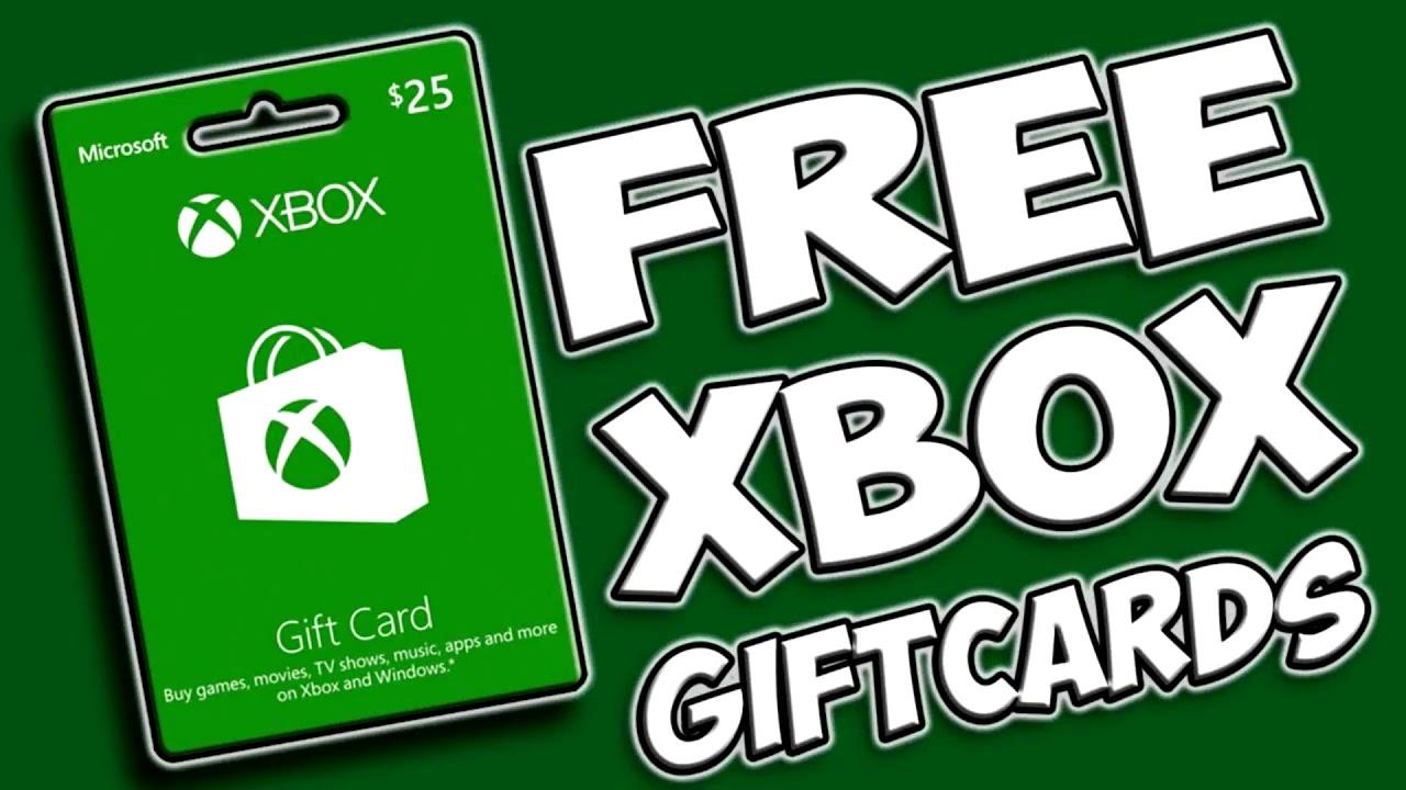 Xbox Gift Card Code Generator No Human Verification 2018