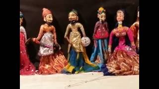 Puppet Show India - by Rajasthani Man 77yrs old