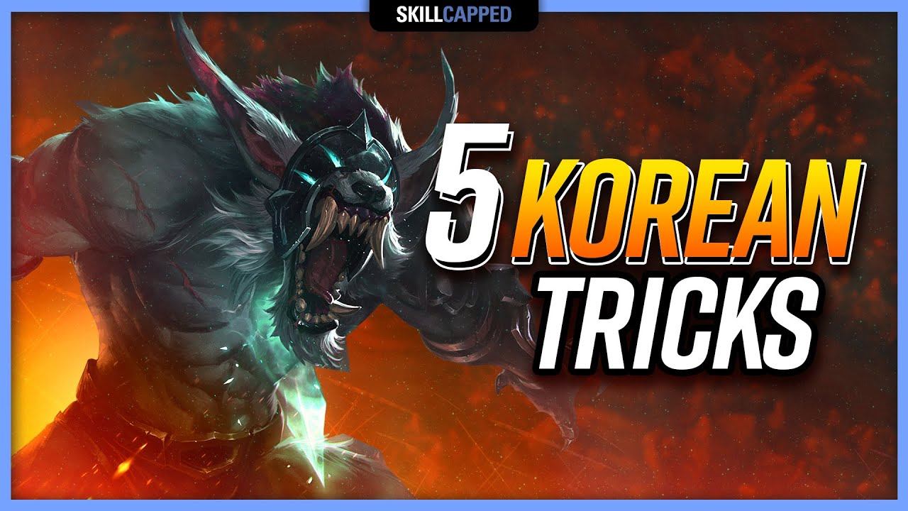 Top 5 Jungle Tricks Korean 1000+ LP Challengers Use to WIN! - Jungle Guide