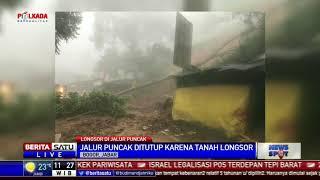 Tertutup Longsor, Jalur Puncak Dialihkan ke Sukabumi dan Jonggol