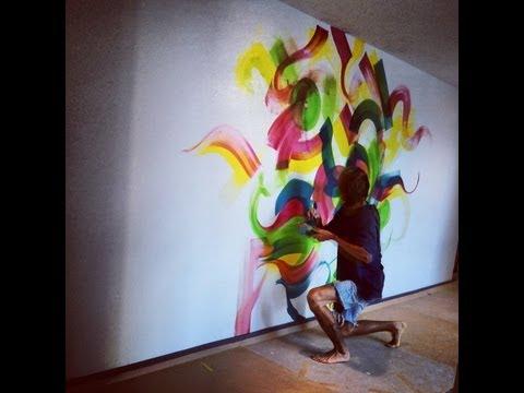 Reskew MBK Art from 2012 Graffiti Abstract Paintings - Miles Wickham- Music, Denzity beats
