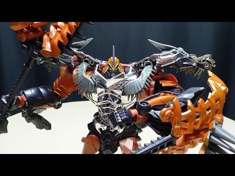 Transformers Age of Extinction Leader GRIMLOCK: EmGo's Transformers Reviews N' Stuff