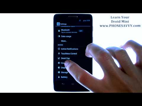 Motorola Droid Mini - How Do I Change Ringtone