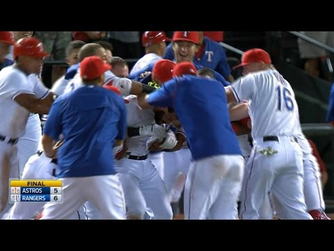 9/15/15: Rangers walk off in 9th for AL West lead