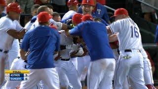 9/15/15: Rangers walk off in 9th for AL West lead