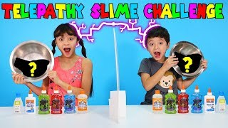 Telepathy Slime Challenge - What 3 Colors will they pick
