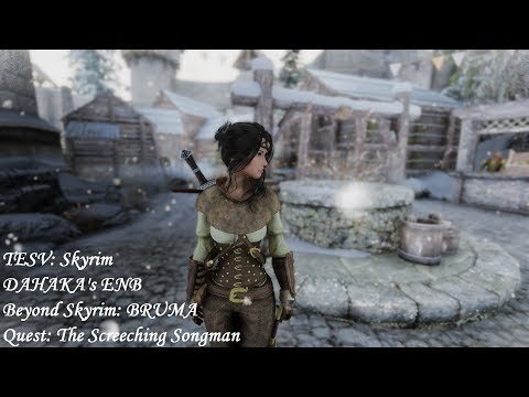 Beyond Skyrim: BRUMA - Quest: The Screeching Songman - DAHAKA's ENB