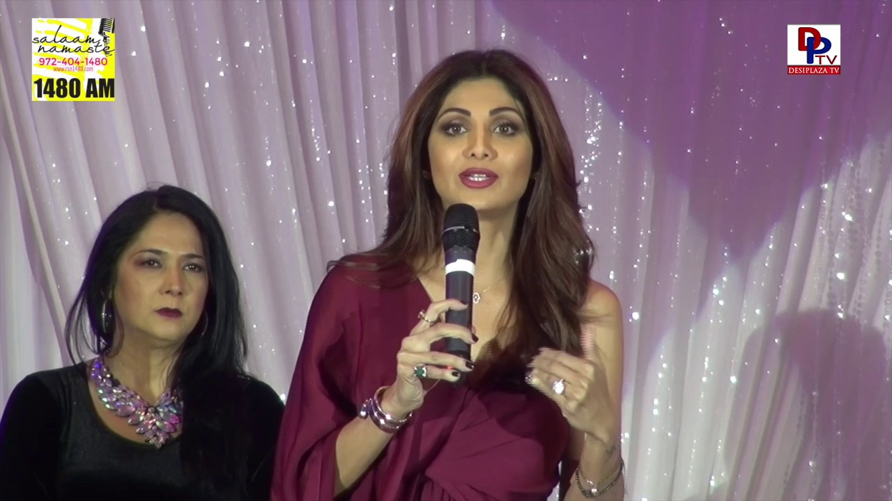 Being born as an Woman is the greatest position in the world - Shilpa Shetty | DesiplazaTV | Dallas