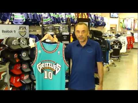 Vancouver Grizzlies Bibby Jersey