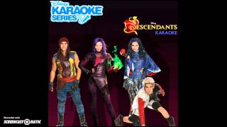 Descendants Cast - Evil Like Me (Karaoke) [Audio Only]