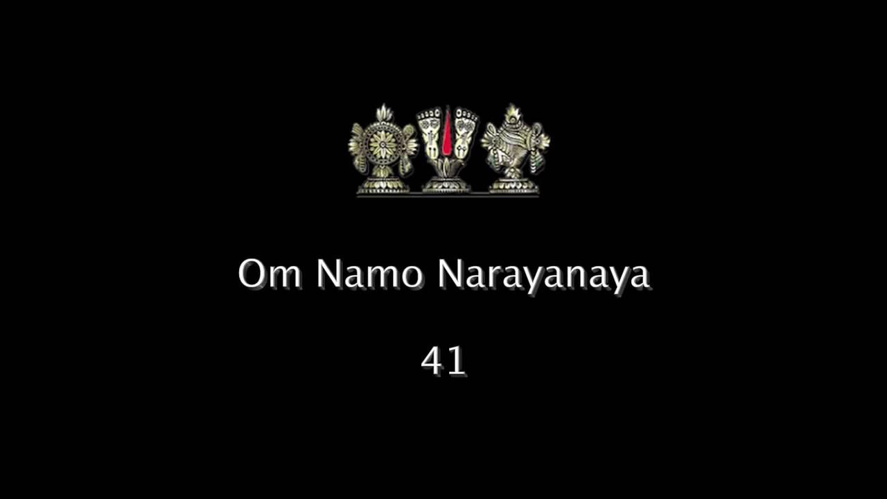 OM Namo Narayanaya The worldwide wave of the Maha Mantra