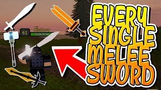 CHAQUE SWORD MELEE EN DUNGEON QUEST!!! (Roblox)