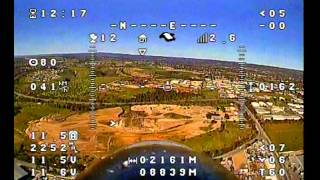 Sky Eye FPV Pan Tilt Mount test, Great View Awesome footage