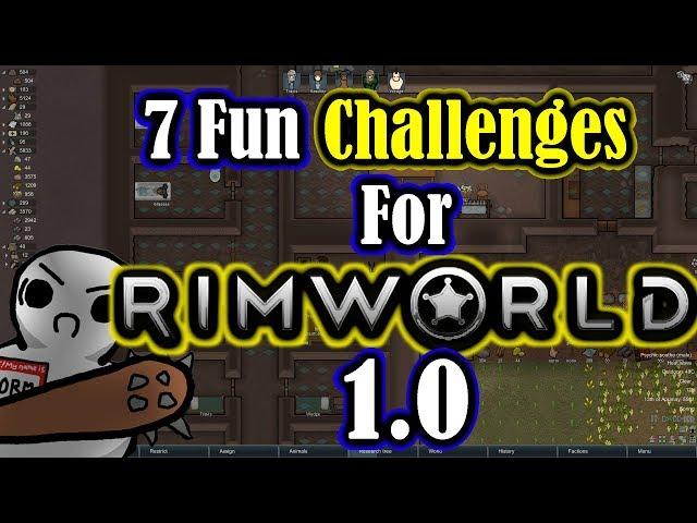 RimWorld Scenarios