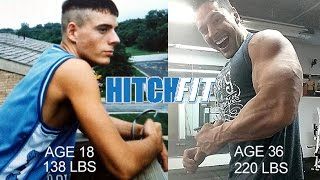 INSANE 14-year 80 lb Muscle Gain from Skinny to World Champ Muscle Model and Hitch Fit Owner