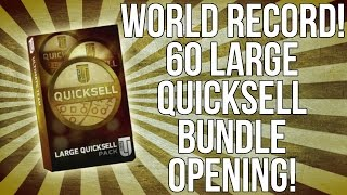 WORLD RECORD! 60 LARGE QUICK SELLS! OVER 1 MILLION IN COINS! ::-Madden 16 Ultimate Team