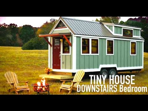 Tiny House- DOWNSTAIRS Bedroom! (Bear's Tiny Homes)