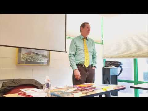 Gordon Douglas Teaches Session On Stand Up Comedy