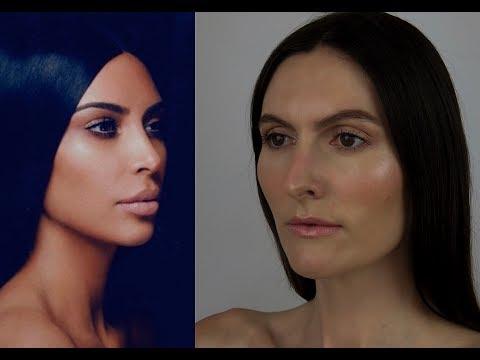 Kim K x Kylie Cosmetics Inspired Makeup   Organic & Cruelty Free Makeup