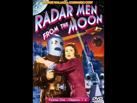 Radar Men From The Moon:  Chapter 1-Moon Rocket