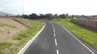 The NEW Bus Only Road @ Birmingham Airport | 14/06/2014