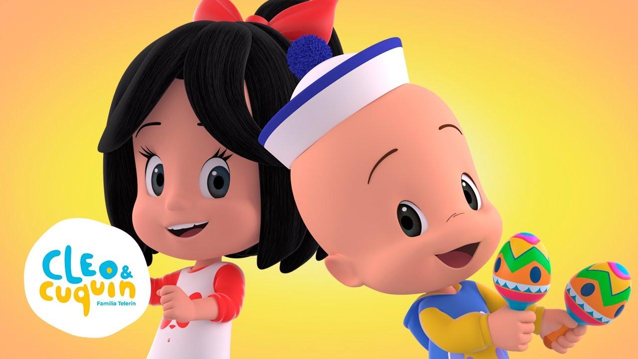 La Bamba - Canta canciones infantiles con Cleo y Cuquin | Familia Telerin