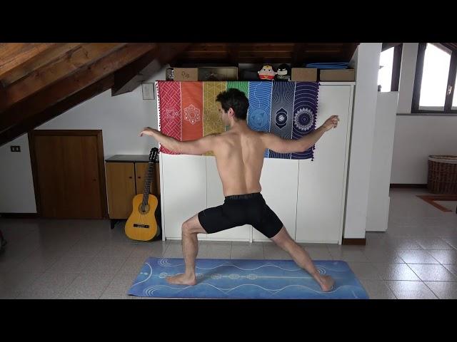 GUERRIERO 2 - Sequenza Anukalana Yoga
