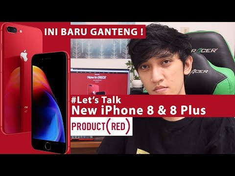 Bahas Tuntas iPhone 8 & 8 Plus Black Red 2018 - Indonesia