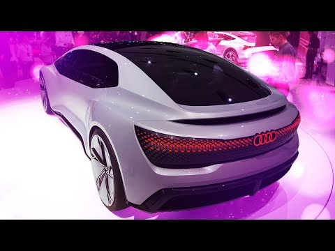 Audi Aicon: the luxury self-driving limousine of the future [Frankfurt 2017]