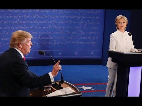 Debate highlights: The final U.S. presidential debate in under 5 minutes