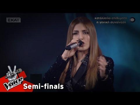 Έλενα Παπαρίζου - Έτσι κι έτσι   2ος ημιτελικός   The Voice of Greece
