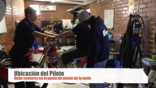 Medicion del Sag KTM Enduro
