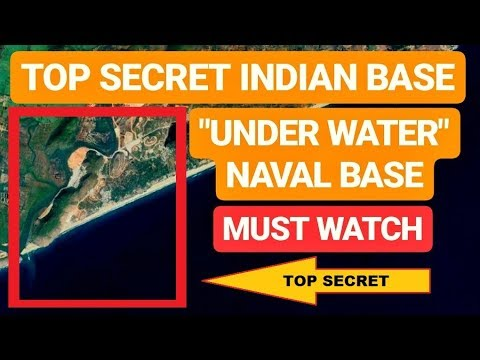 "🔴 INDIA'S TOP SECRET ""UNDERWATER"" NAVAL BASE You Never Knew Existed 