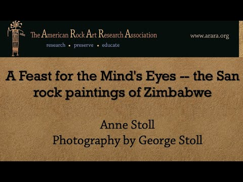 The San Rock Paintings of Zimbabwe by Anne Stoll