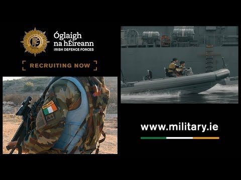 Defence Forces - Army & Naval Service Recruitment