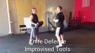 Knife Defense Improvised Tools