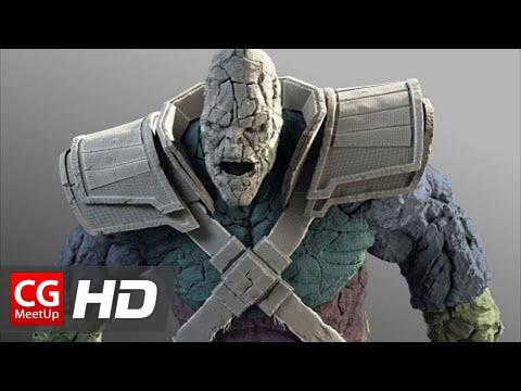 "CGI VFX Breakdown HD ""Thor: The Dark World Stone Man"" by Luma Pictures | CGMeetup"